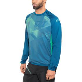 ION Traze AMP Camiseta Manga Larga Hombre, ocean blue